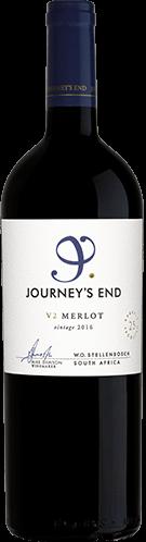 V2 Merlot 2016-Journeys-End-Wines